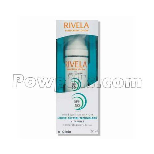 Rivela SPF 50 Sunscreen Lotion