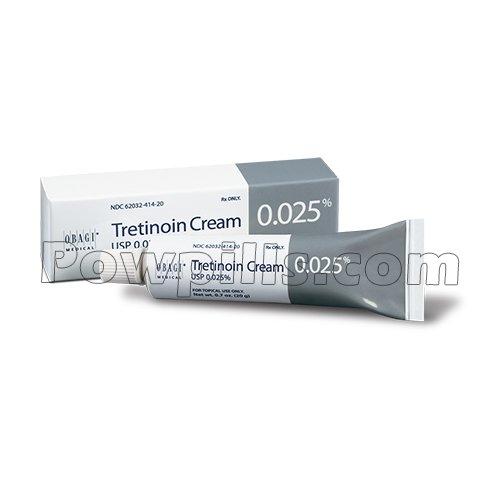 Tretinoin 0.025% Cream