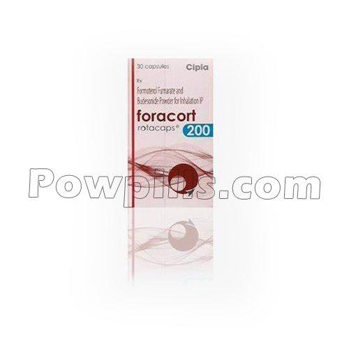 Foracort Rotacaps 200 Mcg