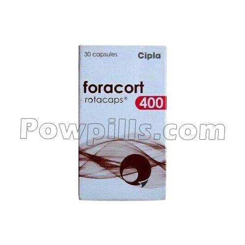 Foracort Rotacaps 400 Mcg