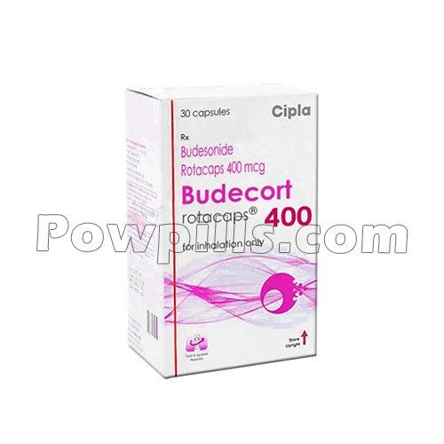 Budecort Rotacaps 400 Mcg