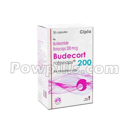 Budecort Rotacaps 200 Mcg