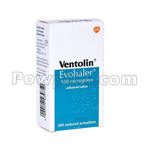 Ventorlin Inhaler 100 Mcg