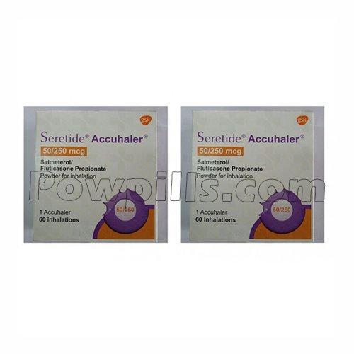 Seretide Accuhaler 50/250 Mcg