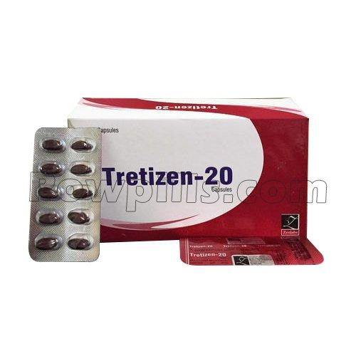 Tretizen 20 Mg Soft Capsule