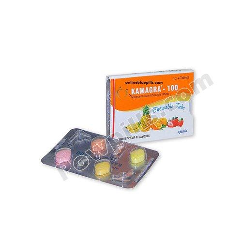 Buy Kamagra Chewable 100 Mg