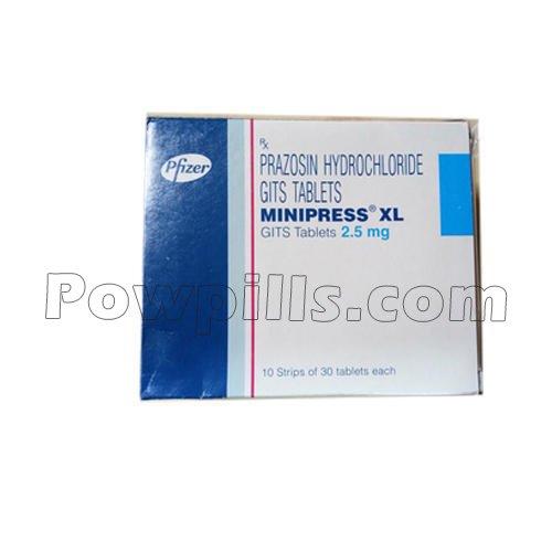MINIPRESS XL 2.5MG