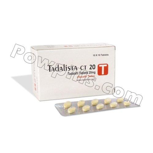 Buy Tadalista CT 20 Mg
