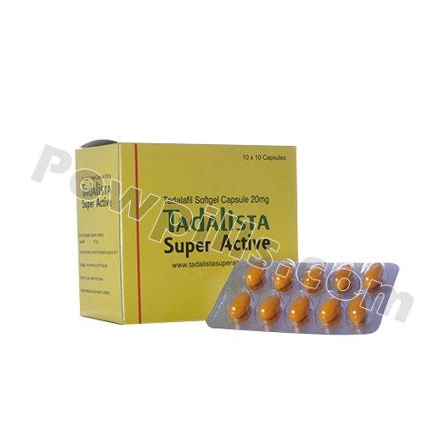 Buy Tadalista Super Active 20 Mg