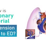 How is pulmonary arterial hypertension related to ED